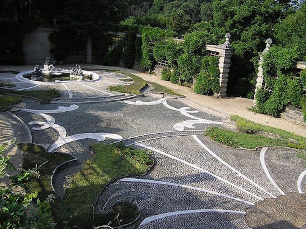 stenen tuin